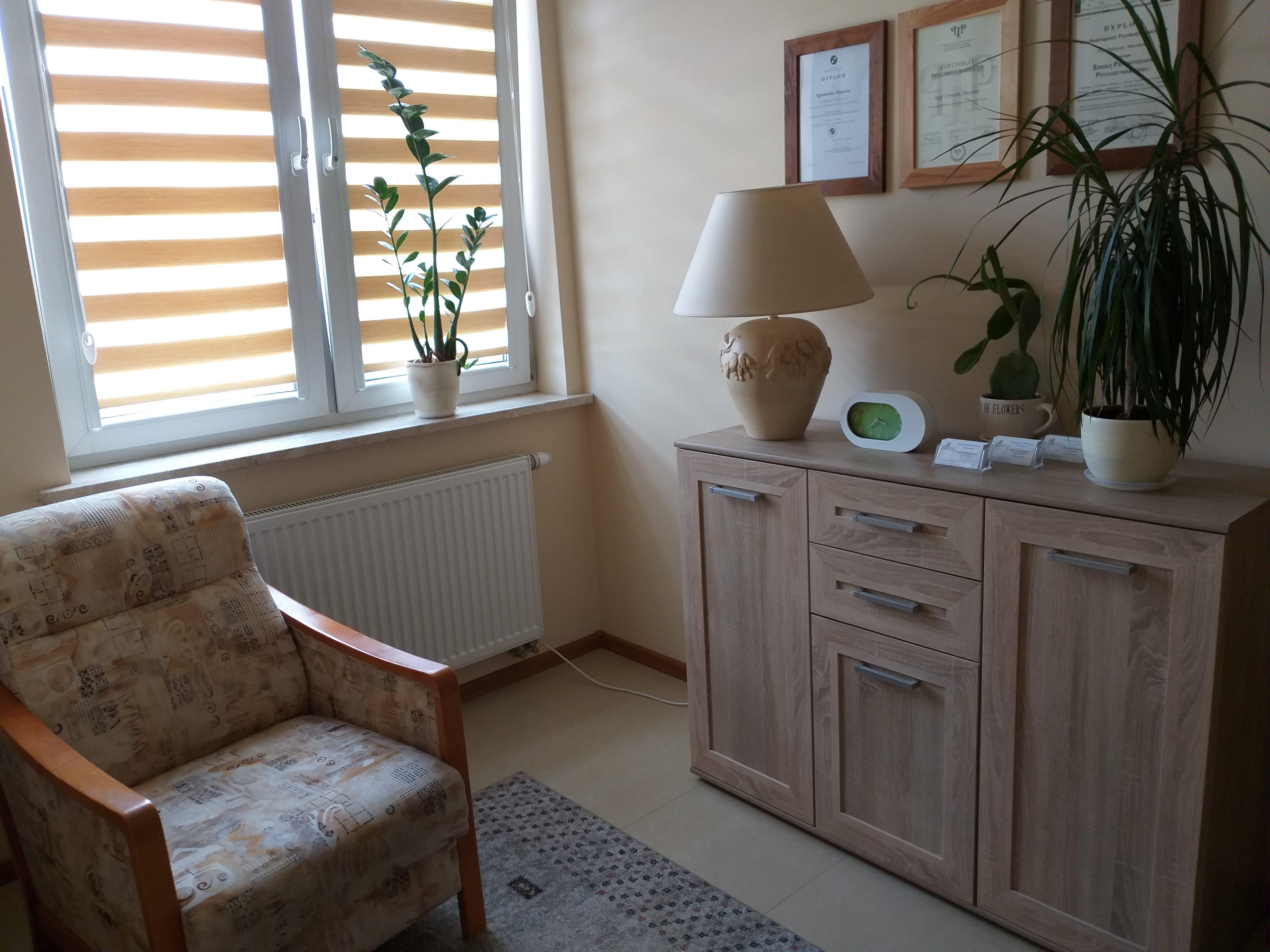 Psychoterapia w Kielcach - zdjęcie gabinetu