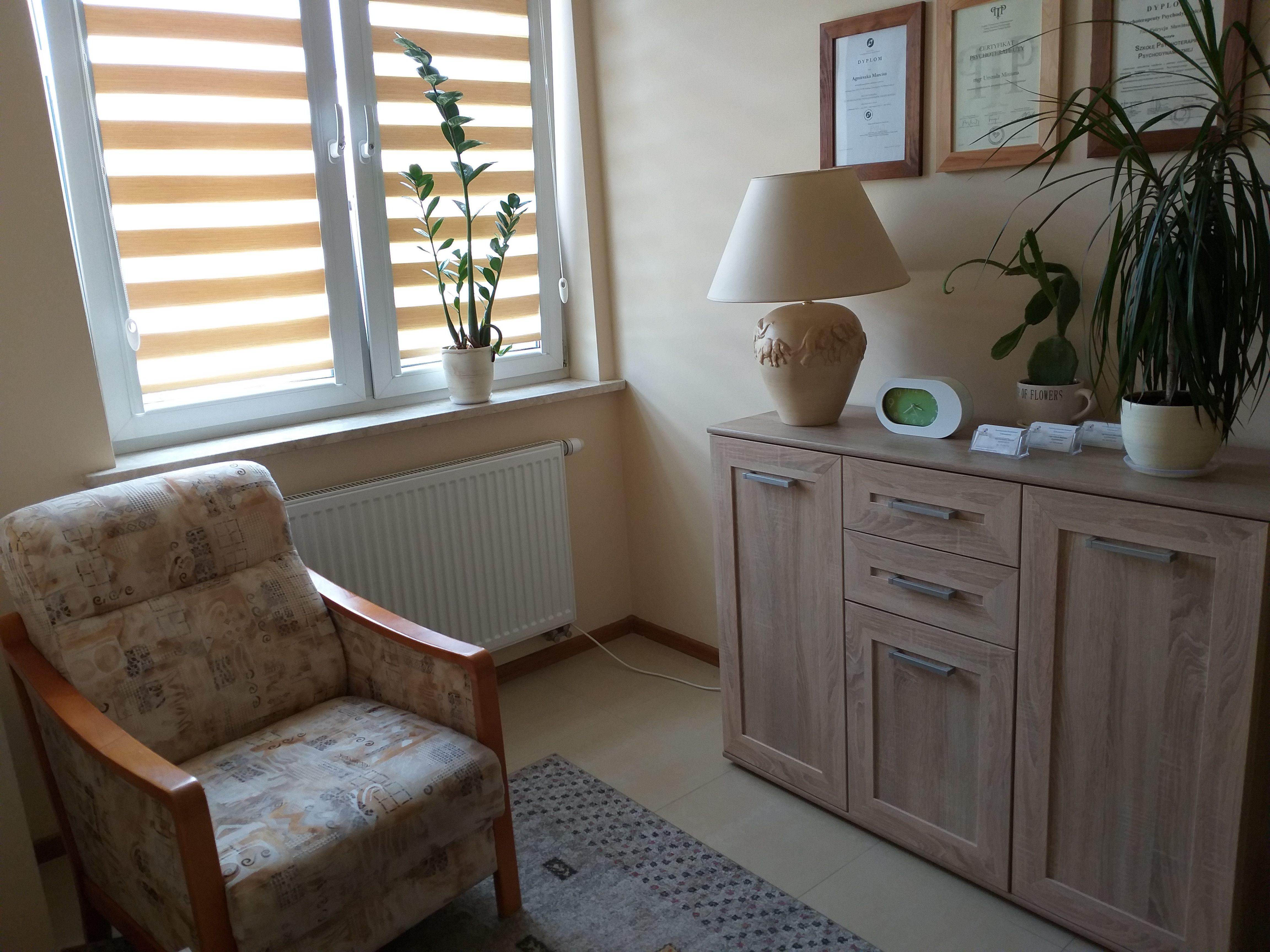 Psychoterapeuta w Kielcach - zdjęcie gabinetu