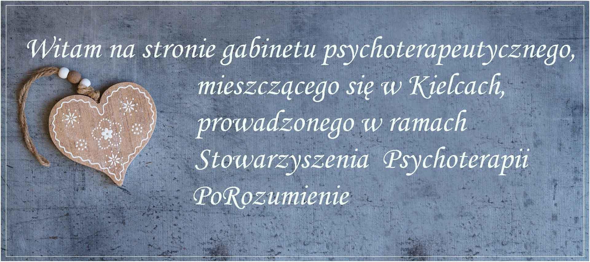 Gabinet psychoterapeutyczny w Kielcach